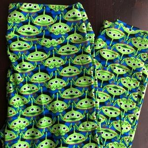 Toy Story Alien Leggings LuLaRoe One Size